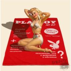 Пляжный коврик «Обложка PLAYBOY»