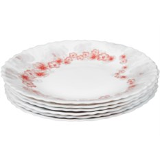 Набор плоских тарелок Rosenberg (6 штук)