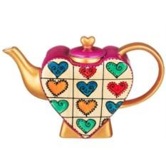 Чайник с ручной росписью Аромат джаза 850 мл