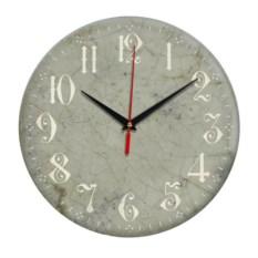 Серые ретро-часы Винтаж