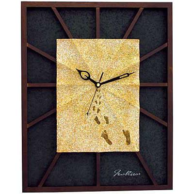 Настенные часы У ато-о оу суна (Следы на песке)