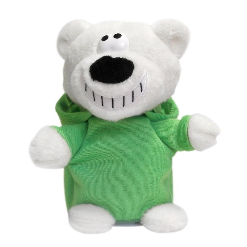 Интерактивная игрушка DJ Медведь (зеленый)