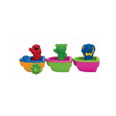 3 лодочки для ванной на магнитах