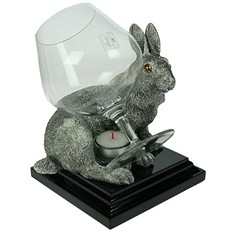 Коньячница с подогревом Кролик