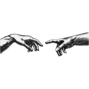 Скульптура Прикасающиеся руки