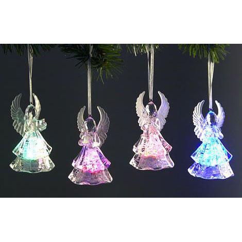 Ангелочки с подсветкой