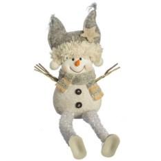 Фигурка Серый снеговик