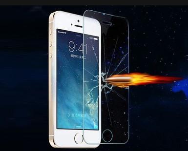 Закаленное защитное стекло для iphone 5