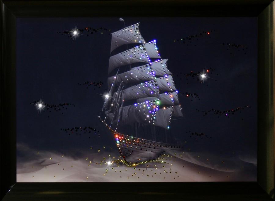 Картина с кристаллами Swarowski Корабль пустыни