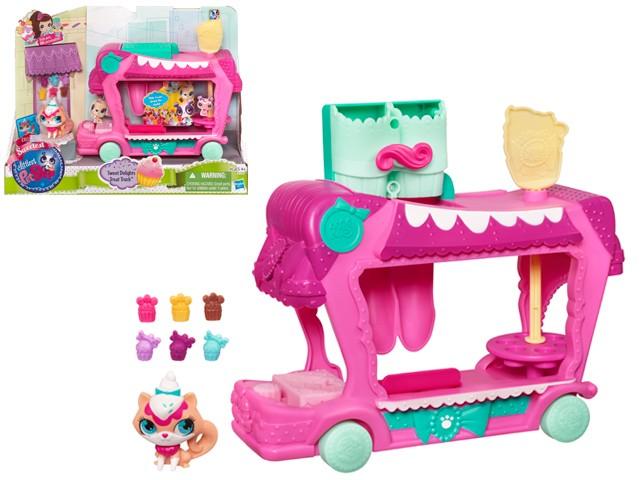 Игровой набор Littlest Pet Shop Грузовик сладостей
