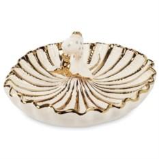 Блюдо Art Ceramic Золотая рыбка