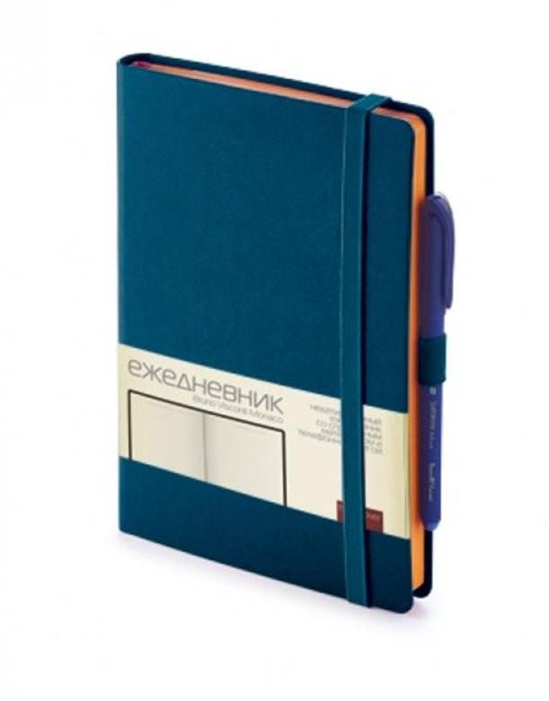 Синий недатированный ежедневник Monaco А5
