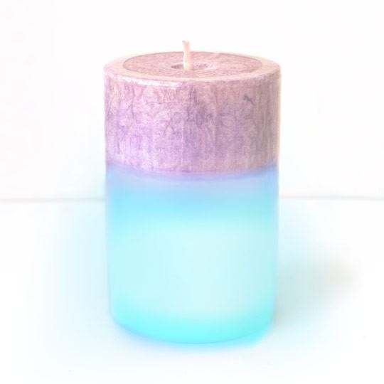 Ароматическая свеча с подсветкой Purple Rain