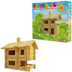 Конструктор «Разборный домик» , 130 деталей