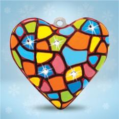 Набор для творчества из папье-маше «Сердечко»