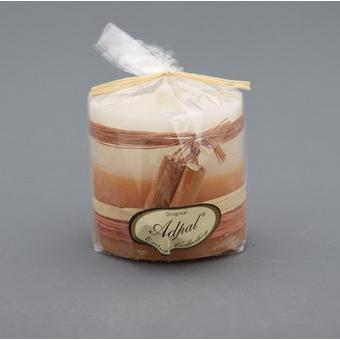 Свеча 65*65 см.аромат корицы тесьма экстра