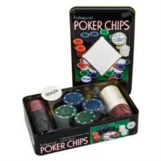 Набор из 100 фишек для покера Holdem Light