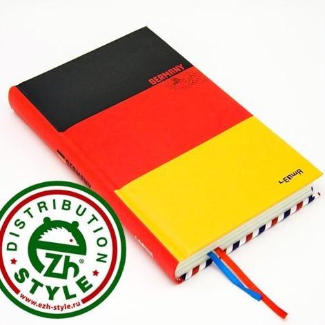 Блокнот Флаги Германия