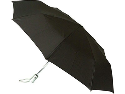 Складной зонт-автомат, черный