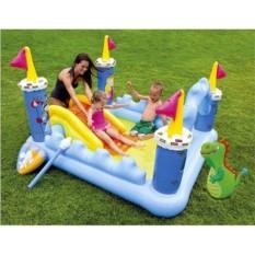 Надувной игровой центр Сказочный Замок для детей от 2 лет
