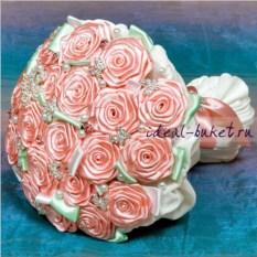 Брошь-букет Свадьба
