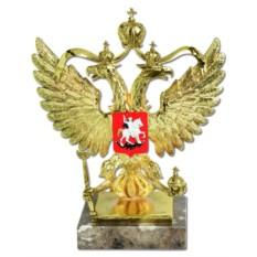Скульптура Моя Россия (в золоте)