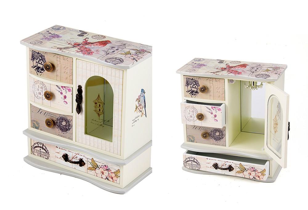Шкатулка-комод для ювелирных украшений