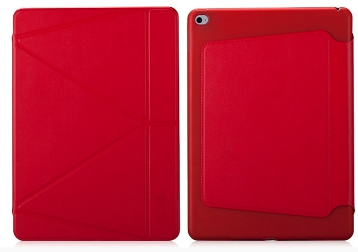 Кожаный чехол The Core Smart Case Red для Apple iPad Air 2
