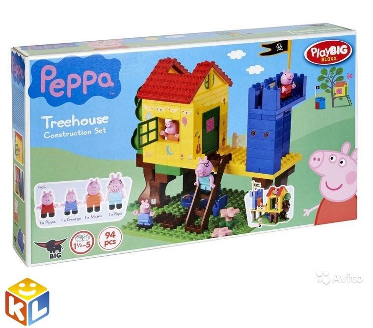 Конструктор Peppa pig Дом на дереве