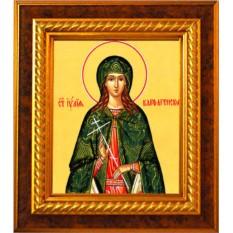Икона на холсте Иулия (Юлия) Карфагенская мученица