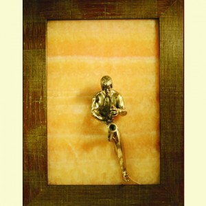 Картина Бронза сквозь камень: Соло для саксофона