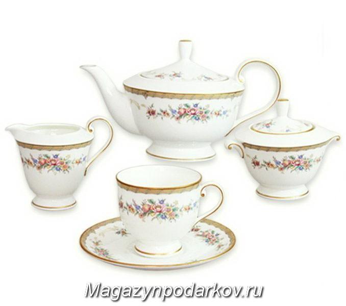 Чайный сервиз на 6 персон Narumi Наслаждение