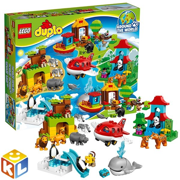 Конструктор lego duplo Вокруг света - в мире животных