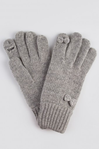 Перчатки Астрид, серые
