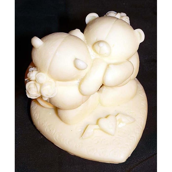 Фигурка из шоколада «Пара мишек»