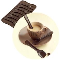 Форма для шоколадных конфет «Ложечки»