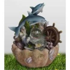Фонтан Дельфины и морское дно