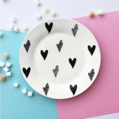 Фарфоровая тарелка Маленькое сердце