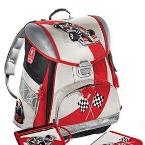 Школьный рюкзак с наполнением Гонки