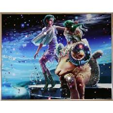 Картина с кристаллами Swarovski Овен Кагая