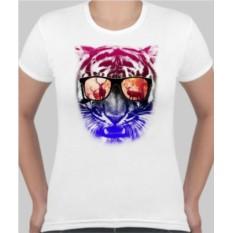 Футболка женская Тигр в очках