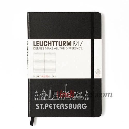 Записная книжка Medium Notebook Black St.Petersburg Edition