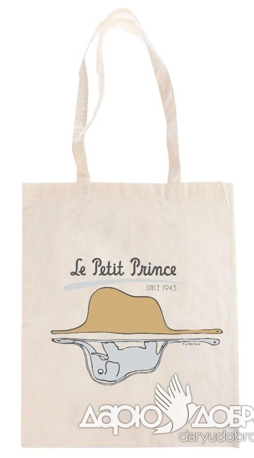 Эко-сумка Маленький Принц Удав со Слоном