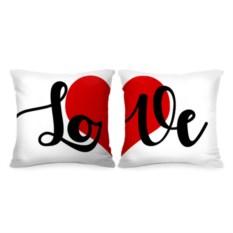 Парные подушки Love
