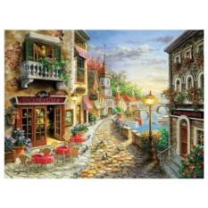 Картина-раскраска по номерам на холсте На отдыхе