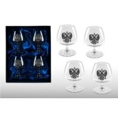 Подарочный набор бокалов для коньяка «Представительский»