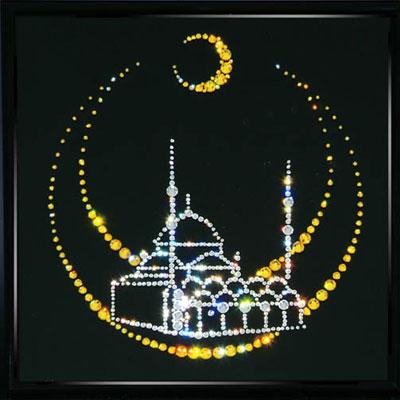 Хрустальная картина «Мечеть»