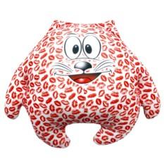 Подушка-игрушка Зацелованный котик