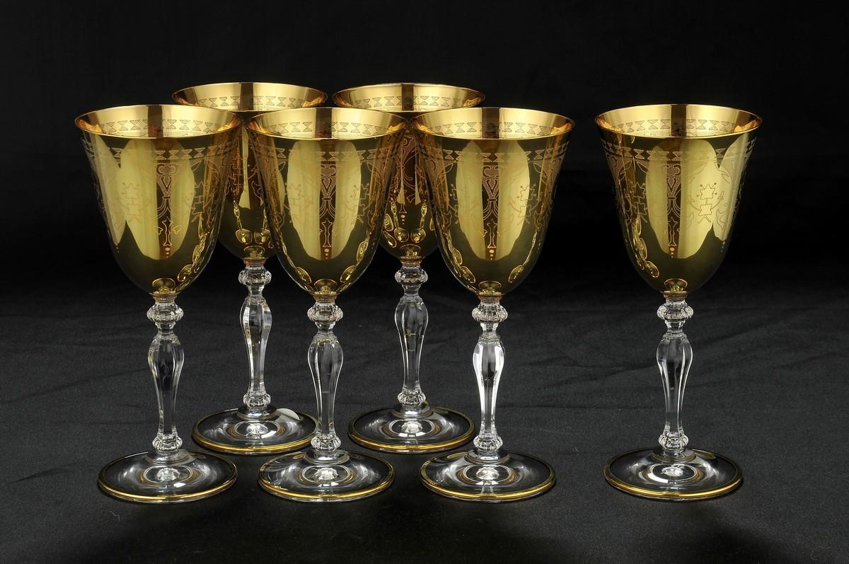 Набориз 6 бокалов для вина Same Cristallerie