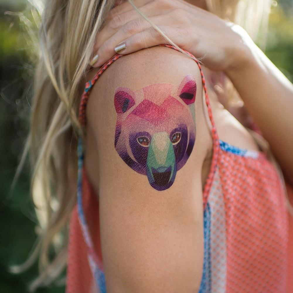 Переводная татуировка от Sasha Unisex Bear